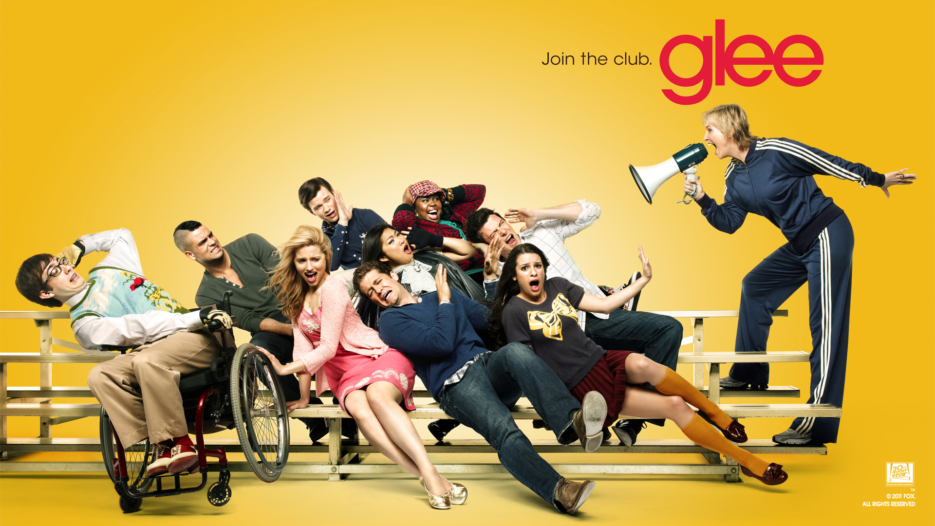 Znalezione obrazy dla zapytania Glee